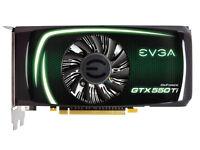 NVIDIA 550Ti GeForce GRAPHICS CARD