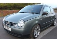 54 VW LUPO 1.4S ALLOYS LEATHER SUB WOOFER SPEAKERS EURO LOOK FSH NEW MOT BARGAIN