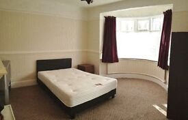 Double Room-Fully Furnished (over 230 sq ft!) in a quiet area.
