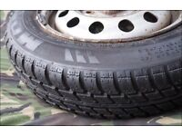 Car Wheel (Steel)