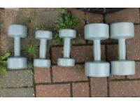 Small Lady's Weights Ladies Fitness Weights Dumbells