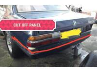 Bmw e28 rear bumper apron vallance lip 81-88 breaking spares 518i 520i 525i 528i e cut off panel