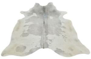 Cowhide Rug Grey White 81 X 72 Inches 1572