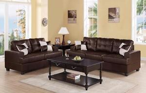 $749 -  NEW !   2-Pcs Sofa Set