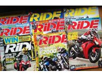 RiDE motorbike magazines for sale