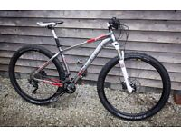 Boardman Pro 29er Mens Mountain Bike, Like new, Hardly used, Medium 18 inch frame, Cost £1000 new