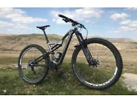 Specialized s works stumpjumper evo 29 full suspension mountain bike