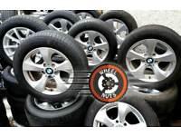 "##SALE## 16"" Genuine BMW Renault Trafic Vauxhall Vivaro alloys great cond excel tyres."