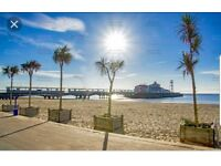 2 bed flat , 5 min walk from the Beach