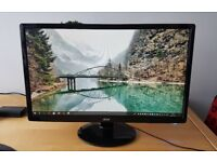 """Acer 24"""" S241HLB LED Super Slim Monitor 2ms with HDMI"""