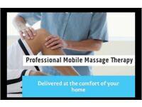 Mobile Massage Service Covering Hampshire