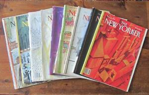 New Yorker Back Issues