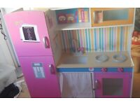 Kids Cottage Play Kitchen - Used