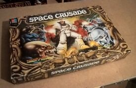 Space Crusade - Board Game - MB Games (1990) - PLUS Mission Dreadnought Expansion