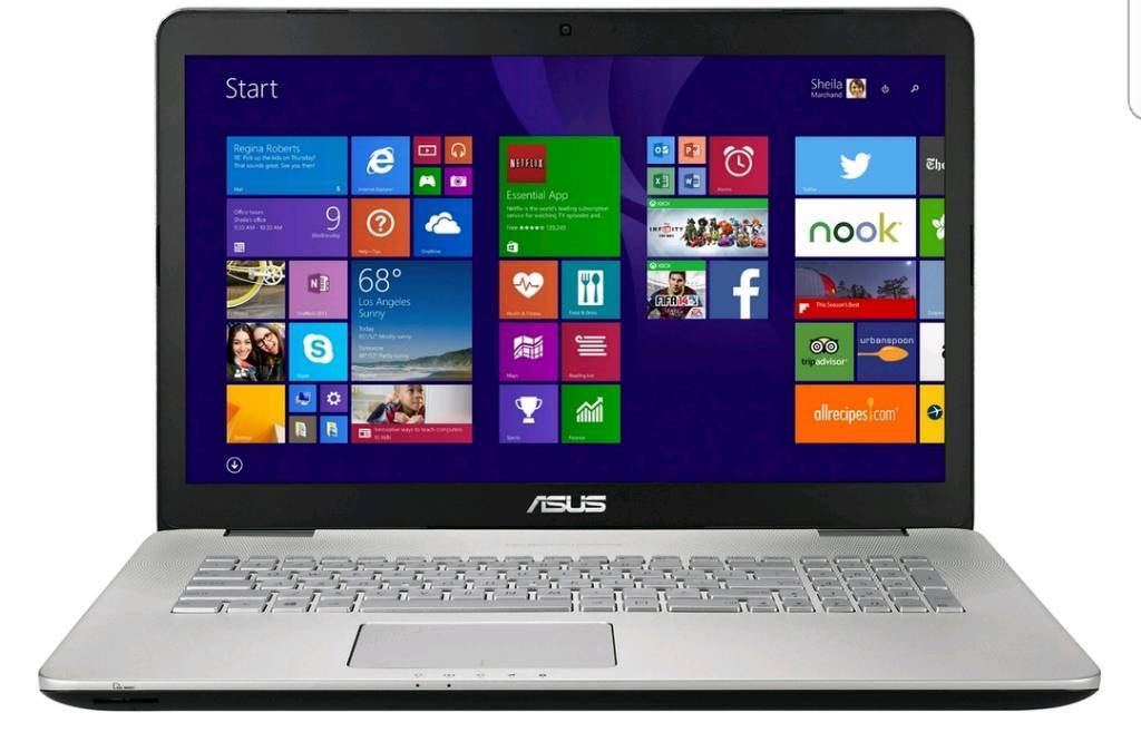 """Asus 17.3"""" Full HD IPS Gaming Laptop very high spec - like new !"""