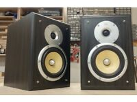 TDL Nucleus KV1 bookshelf speakers