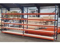 2.5m High Longspan Warehouse Store Room Heavy Duty Garage Shelving Racking