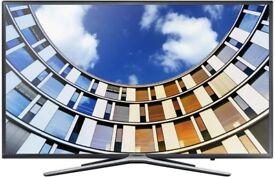 Brand New Samsung 43M5570 Slim Design Ultra Cean View 108 cm 43 inches Full HD LED Smart TV Black