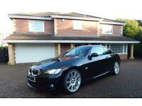 BMW 330d M SPORT (black) 2008