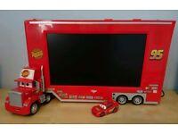 Disney Cars LCD TV &DVD Mac TRUCK (RARE)
