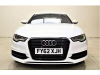 AUDI A6 SALOON 20 TDI 177 S LINE Saloon + TOP SPEC WITH ALL THE EXTRAS (white) 2018