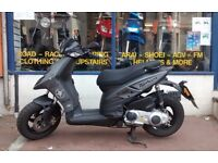 Piaggio Typhoon 125cc Scooter Year 2015 (65) with 3 months free Warranty