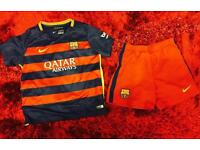 FC Barcelona Kids football kit