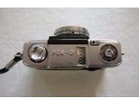 olympus pen-d ( 1962 ) ' 35 mm half frame film camera