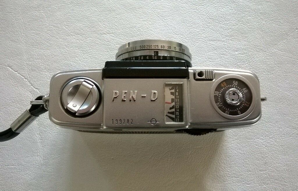 Olympus Pen D 35 Mm Half Frame Film Camera In Beaconsfield