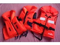3 x Children's Life Jackets - Used