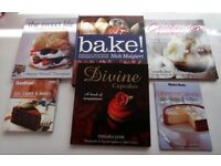 6 baking books in excellent condition