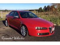 Stunning looking Alfa Romeo 159 Ti saloon 1.9 cdti model EXTENSIVE HIST and money spent, long mot !!