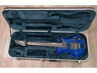 IBANEZ JS1000 BTB...BURNT TRANSPARENT BLUE