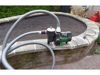 Stuart Turner XB90 Pool Pump