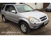 HONDA CR-V ( CRV ) Se Sport 2.0 Vtec, silver metallic 2003, fsh, mot August 2017, just serviced