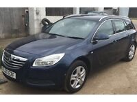 VAUXHALL INSIGNIA 2.0 CDTi 2010 (60 PLATE) 6 SPEED BREAKING FOR SPARES