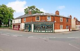 Period Retail Premises with 3 Bed Accommodation, Garden and Storage