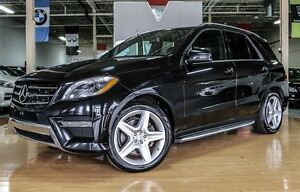 2014 Mercedes-Benz M-Class ML350 AMG PKG| DIESEL| PANO| 360 CAME