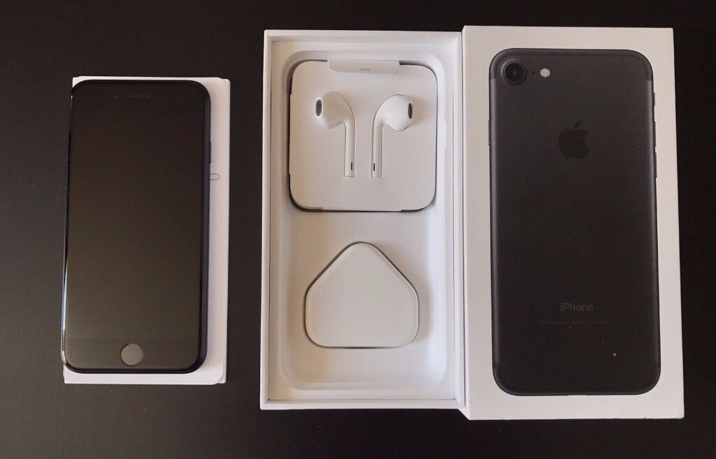 Iphone 7. 32GB. EE. Black. Mint Condtion