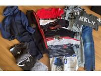 Boys Smart Age 9-10 Bundle 6 Sets & Tshirts