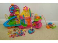 Polly Pocket Mall on the Wall playsets