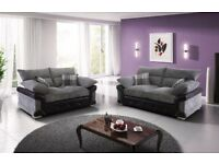 LOGAN 3+2 FABRIC SOFA FOR SALE BRAND NEW !!!