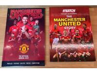 Manchester United Football Books x 2