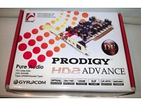 AUDIOTRAK Prodigy HD2 ADVANCE DE Sound Card 2-Channel Internal Audiophile