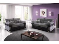 BRAND NEW LOGAN 3+2 FOR SALE!! FABRIC SOFAS