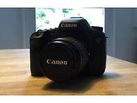 Canon 7D + 18-55mm Lens