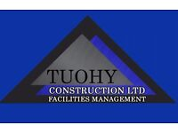 Electrical / General Maintenance Staff Required - Tuohy Construction LTD