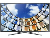 Brand New Samsung 43M5570 108 cm 43 inches Full HD Slim Design Ultra Cean View LED Smart TV Black