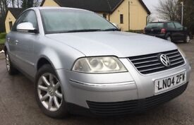 2004 VOLKWAGEN PASSAT 1.9 TDI HIGHLINE AUTOMATIC +FULL S/HISTORY+76,000 MILES+1 OWNER SINCE NEW!!