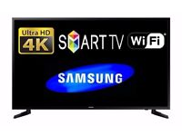 Samsung UE55JU6000 Smart 4k Ultra HD 55 Inch LED TV with Built-in WiFi and Freeview HD